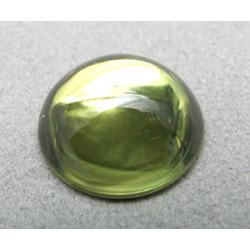 Cabochon en résine 18mm Olivine (x1)