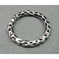 Perle anneau intercalaire diam. 24mm - argenté (x1)