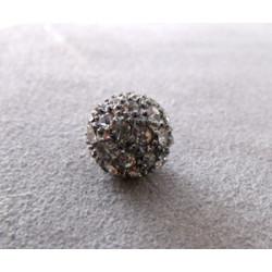 Perle strass pour Shamballa Light Amethyst 10mm (X1)