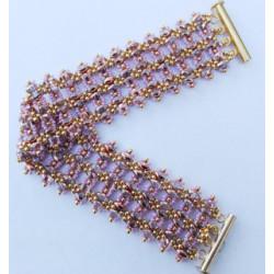 """Schéma du Bracelet """"Asha"""" de Flymouche"""