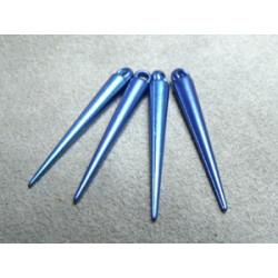 Spikes 35X5mm Bleu (X20)
