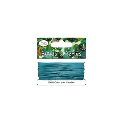 Cuir Turquoise 1mm(X3m)