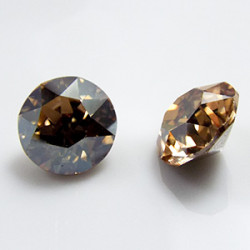Cabochon rond 1088 SS39 Xirius 8mm Crystal Golden Shadow (x1)