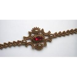 """Schéma du Bracelet """"Colombine"""" de La Bijoutisse"""